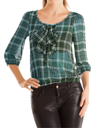 360836a9b72 Скачать готовую выкройку блузки реглан - размеры 42-46-52.