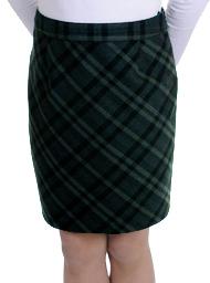 Как сшить юбку школьную на девочку 189