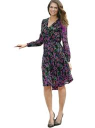 Модели платья из шифона с выкройками