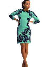 Женские платья из обтягивающей ткани с выкройками