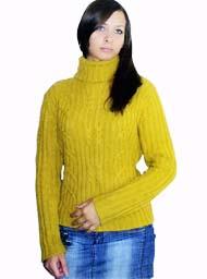 свитер в ирландском стиле схема вязания спицами и описание узора